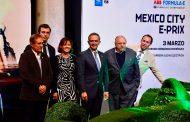 Formula E, CDMX y OMDAI FIA México presentan el México City E-Prix 2018