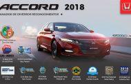 El nuevo Honda Accord recibe 14 premios en 5 meses