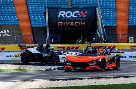 Calderón y Rojas prueban la pista de la Carrera de Campeones